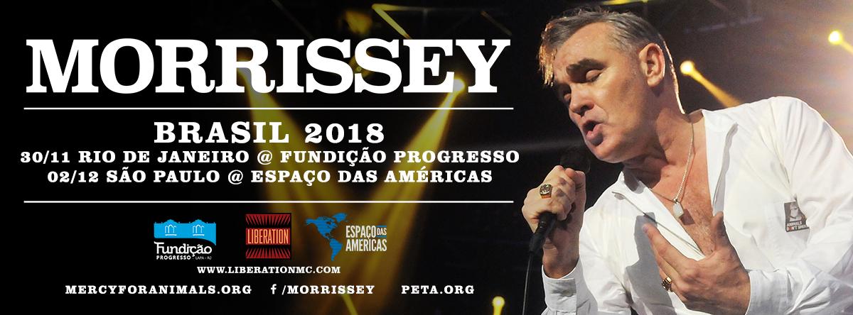Liberation – Morrissey capa facebook