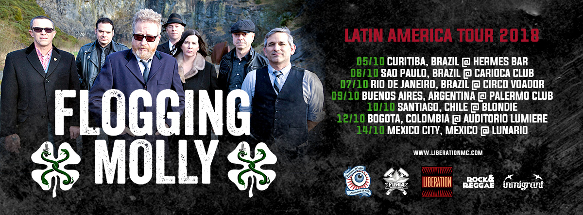 Liberation – Flogging Molly capa facebook