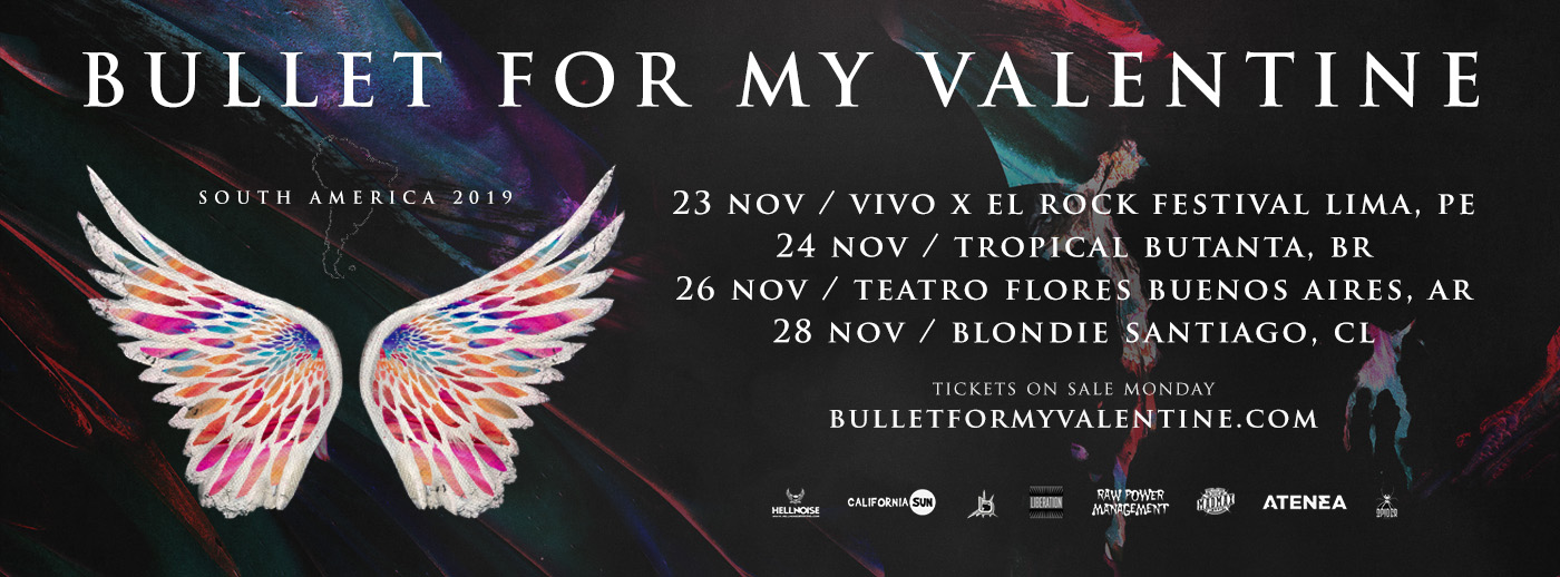Liberation – Liberation – Bullet For My Valentine capa facebook